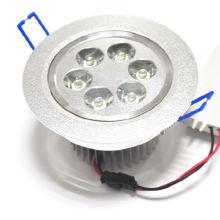LED fábrica 6led ce rohs interior 100-240v 6w lámpara de techo decorativo