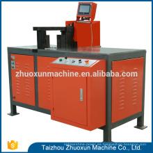 Máquina de refinación de cobre del proceso de la curva del procesador de la barra del CNC de la venta caliente