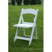 Resin Folding Chair with pad