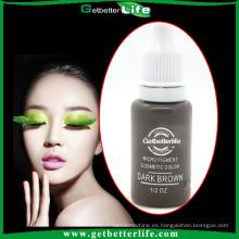 2014 getbettelife tinta de maquillaje de cejas Micro negro de alta calidad y muchos colores pigmento del tatuaje