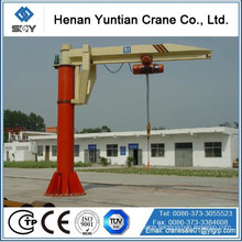 2014 hot sale Fixed Floor Mounted Jib Cranes
