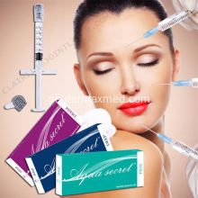 Aqua Secret Dermal Filler Behandlingsindikationer