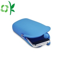 Promotional Cheap Silicone Wallet Customized Size Coin Purse