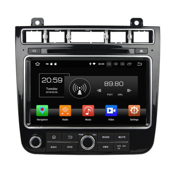 Android Bilstereo สำหรับ TOUAREG 2015-2016