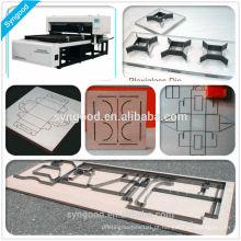 Máquina de corte do laser do cartão de Syngood Preço SG1218 (1200 * 1800mm)