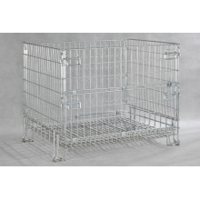 Storage Cage Steel Wire Container /Foldable Box with Factory Price