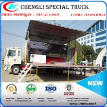 Conduite à droite 4 X 2 exportation de Philipine publicité scène camion