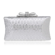 Sequin Silver Women's Evening Dinner Clutch Bag Bride Bag For Wedding Evening Party Bridal HandBags B00110 dinner bag
