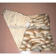 Chinesische Hasenkaninchen-Bauchpelzplatte