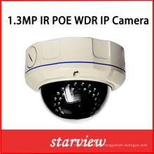 1.3MP WDR IP IR Ik10 Vandalproof CCTV Security Dome Camera