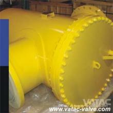 Filtro da cesta da tela do aço de molde A216 Wcb Ss304 / Ss316
