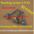 Vis de toiture à vis autoperceuse bi-métal