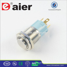 Daier LAS3-16H-11E Ring Illuminated High Push Button Switch
