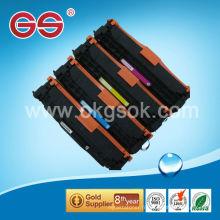 Poudre de toner couleur en vrac Remanufactured CC531 pour cartouche de toner couleur hp cp1025