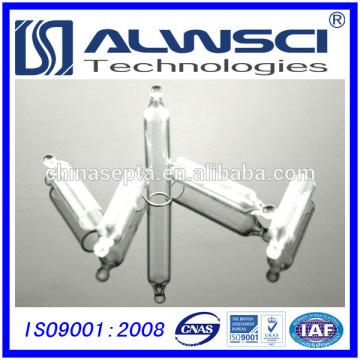 Frascos de extrusão automática de 200ul com inserções de micro cónico de vidro de 5mm