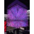Crystal LED Ball String Color Change DMX Control