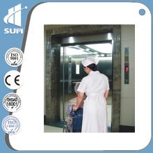Espelho Aço Inoxidável Velocidade 1.0-2.0m / S Elevador Hospitalar