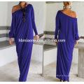 Le bureau de promotion d'OEM portent la longue robe d'été décontractée de femme de jupe