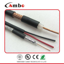 coaxial cable RG59 power cable copper clad aluminum