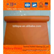 Tela de fibra de vidro do revestimento do PVC para a isolação da facilidade