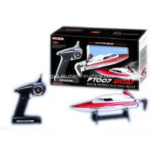 R / C modelo de barco de alta velocidad de barcos de carreras de juguetes