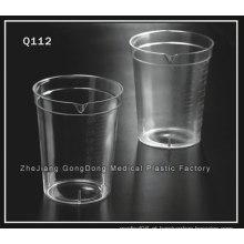 Recipiente descartable 6.5oz W / O Lids 500 / CS