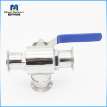 Fábrica modificada para requisitos particulares del acero inoxidable 304 / 316L de alta presión de la válvula de bola