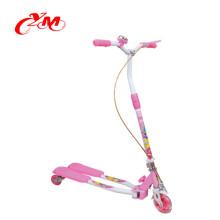 2017 забавные игрушки дешевые 3 колеса дети мини удар Скутер /мотороллер сборки для детей/завод дешевые цена мини-скутер для детей