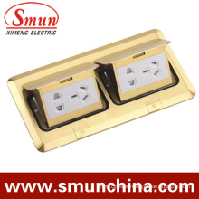 Dual Spring Type Ground Socketdc-1t/8 Pop-up Type Floor Socket