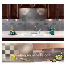hangzhou modern kitchen design back splash metal mosaic tiles