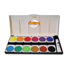 Bolo de cor de água de 12 cores