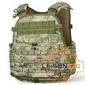 Ballistic Vest Adopts Kevlar or Tac-Tex with 1000d Waterproof and Flame Retardant Nylon or Cordura