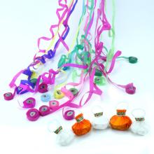 Новое Прибытие 2018 партии серпантин ручка бросать конфетти для игрушки детей