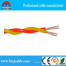 Fire Resistant Twisted Pair Cable PVC Copper Conductor Electrc Wire