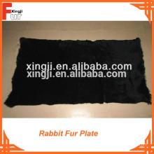 Свадьба 60 x 120 Ранг крашеный мех кролика пластина