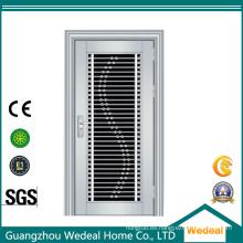 Puerta de acero inoxidable de alta calidad # 304 para entrada de casas