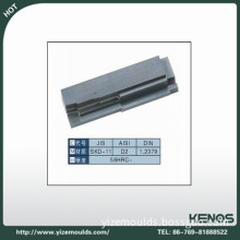 EDM machining plastic mold spare parts have various sizes and designs in YIZE