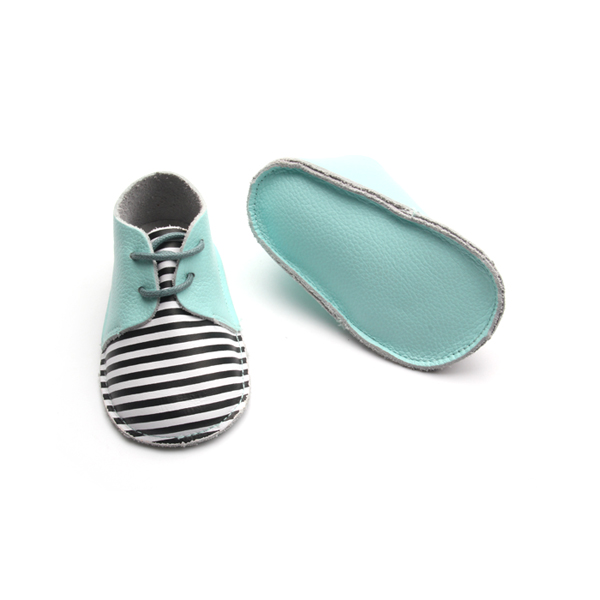 Stripe Oxford Baby Shoes