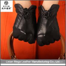 Chine nouvelle conception populaire Gants en cuir femme de mode
