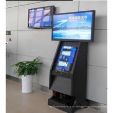 55inch цифровой двойной Дисплей LCD signage Цифров сторон