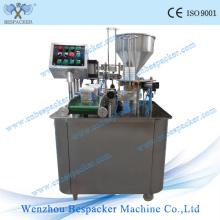 Máquina de llenado de alta velocidad de la taza rotatoria K del polvo de la cápsula