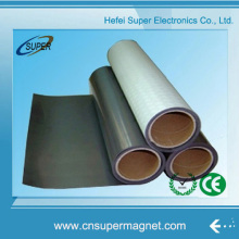 Plain Rubber Magnet Roll with Double Side Adhesive
