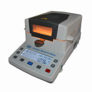 Halogen Moisture Meter with 2mg accuracy, 0 to 100% testing range, for food, tea, chemicals, soil XY
