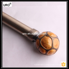 europe style 28mm brass curtain rods
