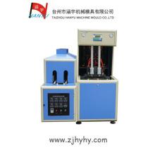 Máquina de moldagem por sopro de plástico semi-automática de 2 cavidades