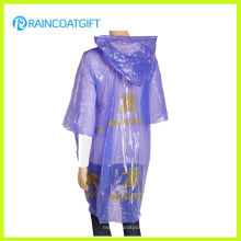Impermeable desechable de emergencia PE para mujer