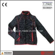 Frauen Winter Bodkin Fleece-Sweatshirt Ladys gestrickte Jacke
