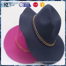 Sombreros de las mujeres uniformes del diseño de la venta de la fábrica nuevos para 2016