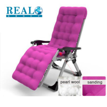 Modern high quality gravity zero chair folding guest office chair with armrest and mattress