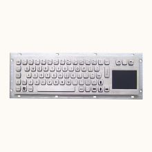 English And Arabic Metal Keyboard With Touch Mouse Pad